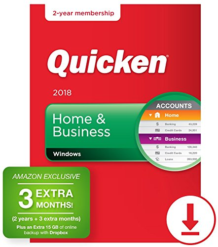 Quicken Home & Business 2018 – 27-Month Personal Finance & Budgeting Software [PC Download] – Amazon Exclusive