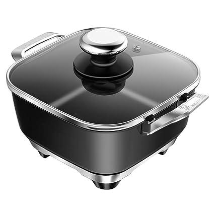 Fondue Hot Pot parrilla eléctrica, mini portátil de Hogares ...