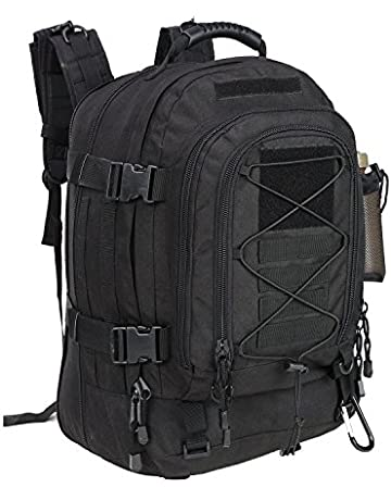 f8cabcdae WolfWarriorX Military Tactical Assault Backpack for Men Expandable Travel  Backpack Waterproof Outdoor 3-Day Bag