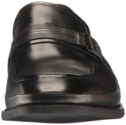Kenneth Cole Reactie Mens Sloeg De Baksteen Instapper Loafer Zwart