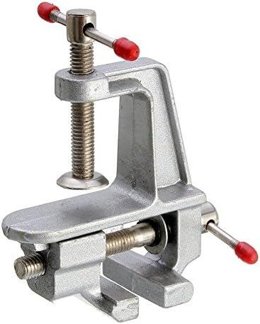 Queenwind 3.5 インチアルミニウム Queenwind 小型ホビークランプテーブルのバイスツールバイス