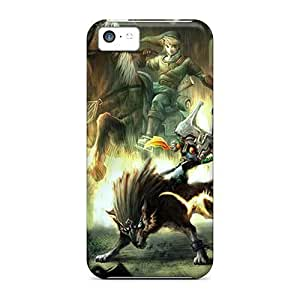 Hot Fashion Hzb15180NcOS Design Cases Covers For Iphone 5c Protective Cases (the Legend Of Zelda)