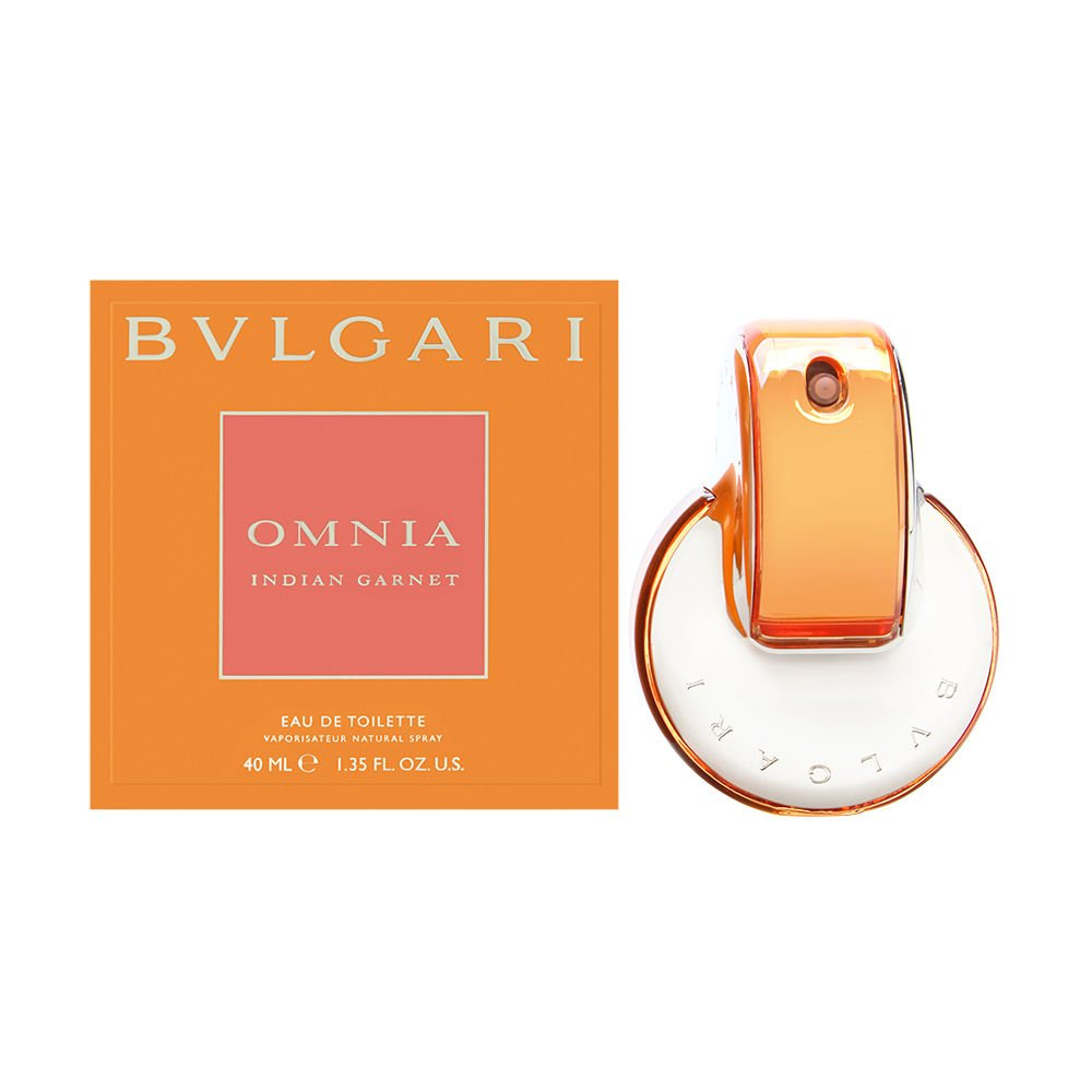 Bulgari Omnia Indian Garnet femmewoman, Eau de Toilette, VaporisateurSpray 40 ml, 1er Pack (1 x 40 ml)