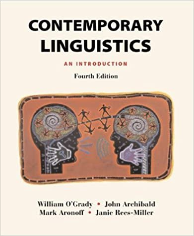 Amazon contemporary linguistics an introduction 9780312247386 contemporary linguistics an introduction fourth edition edition fandeluxe Choice Image