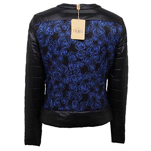 D5080 Classe Nero Donna Black Woman blu Jacket Martini 1a Piumino Alviero 67UWna