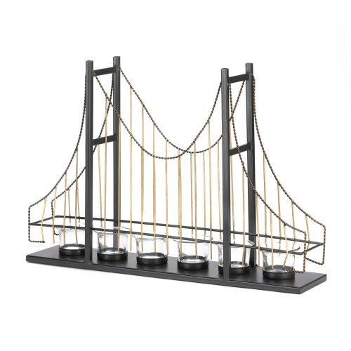 Home Locomotion Golden Gate Bridge Candleholder
