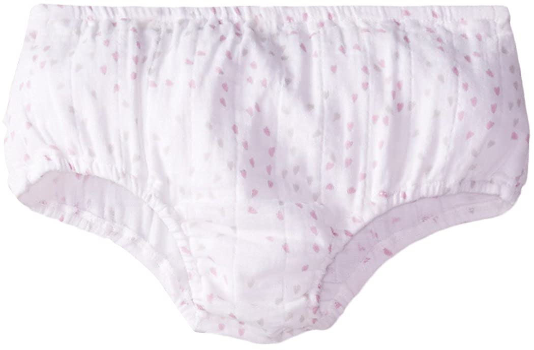 aden + anais Baby-Girls Newborn Muslin Ruffled Bloomer 23K