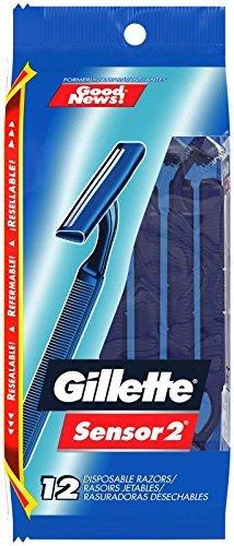Gillette Good News Fixed Disposable Razor, 12 ct