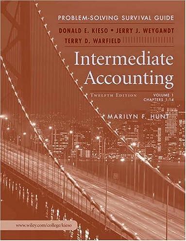 intermediate accounting problem solving survival guide donald e rh amazon com Intermediate Accounting II Exam Answers Intermediate Accounting Answers