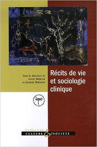 Livre Récits de vie et sociologie clinique pdf, epub ebook