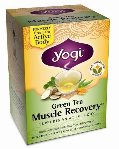 Yogi Tea Og3 Grn Muscle Recove 16 Bag by YOGI