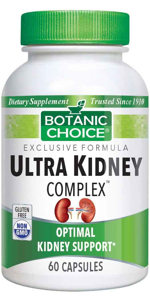Botanic Choice Ultra Kidney Complex Capsules, 60-Count Bottle by Botanic Choice