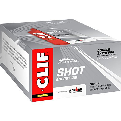 - CLIF SHOT - Energy Gel - Double Expresso - (1.2 Ounce Packet, 24 Count)