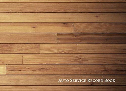 Review Auto Service Record Book: