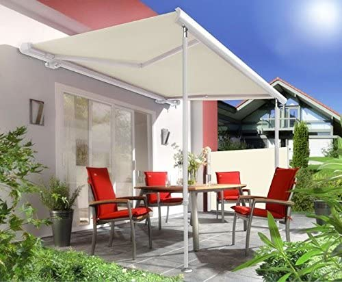 Primrose Soporte Poste para Store – Adjustable 1.7 M DE 2.9 M: Amazon.es: Jardín
