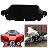 INNOGLOW Motorcycle ABS Wave windscreen windsheild Fit Harley Electra Street Glide Touring Bike 2014-2016 (02)