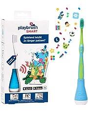 Playbrush Smart, smarte Kinder-Zahnbürste mit Apps zum spielerischen Erlernen des Zähneputzens (Pink)