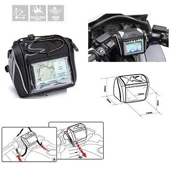 Borsello porta navegador GPS de manillar universal para moto scooter Kappa ra305r para Suzuki: Amazon.es: Coche y moto