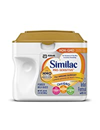 Similac Pro-Sensitive Non-GMO Infant Formula with Iron, with 2'-FL HMO, For Immune Support, Baby Formula, Powder, 22.5 ounces (Single Tub) BOBEBE Online Baby Store From New York to Miami and Los Angeles