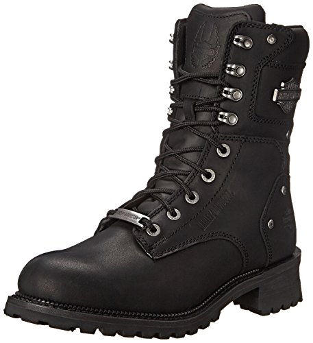Harley-Davidson Mens Elson Logger Boot Black 1IffnS3W65