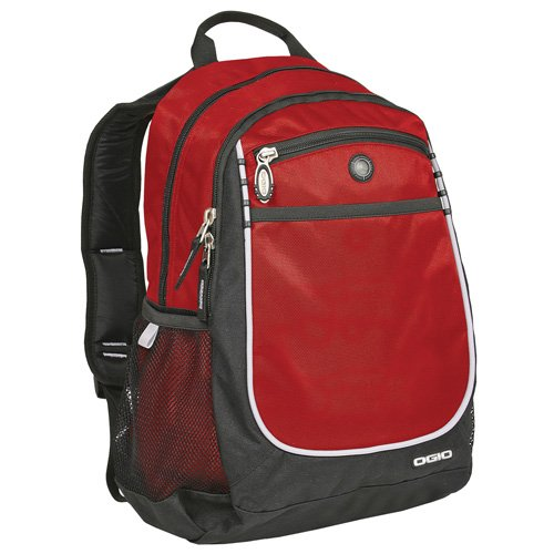 Ogio Carbon Backpack, OSFA, Red