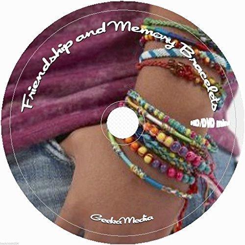 (How to Make Friendship Bracelets CD DVD 3 books 14 video tuts beaded floss)