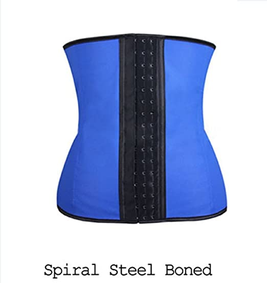 a0ff10f2f99 Image Unavailable. Image not available for. Color  Fnoexw Women s Underbust  Latex Sport Girdle Waist Trainer ...