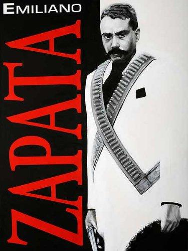 ZAPATA! Robert Valadez Mexico Hispanic Latin Emiliano Military Print Poster 18x24 (Roberts Discount Furniture)
