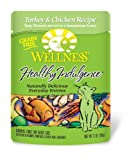 Wellness 24-Pack Healthy Indulgence Turkey and Chicken Recipe Cat Food, 3-Ounce Pouch, My Pet Supplies