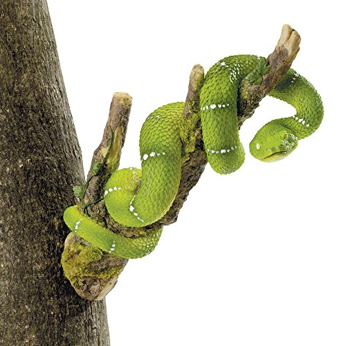 Bits and Pieces – Snake on a Branch Tree Hugger – Outdoor Home Décor Tree Statue – 11″ Weather Resistant Polyresin Garden Sculpture