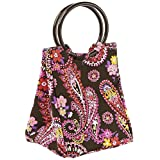 Fit & Fresh Lauren Insulated Lunch Bag, Spring Paisley