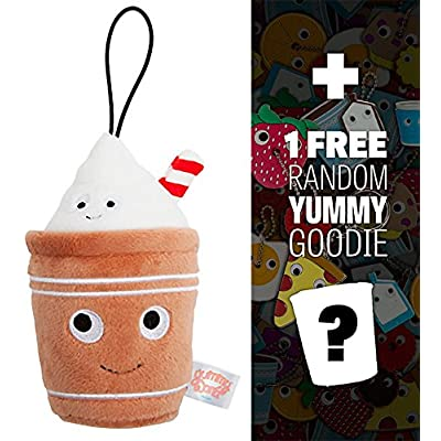 "Yummy Leah & Linus The Lattes: ~4"" World Small Plush Series #3 + 1 Free Official Mini-Item Goodie Bundle: Toys & Games"