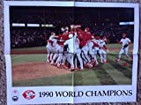1990 Cincinnati Reds World Series Champions Celebration Poster