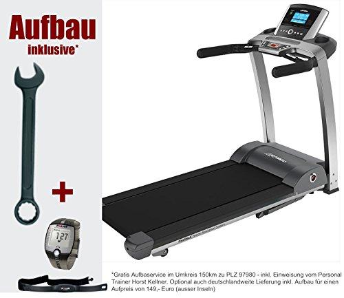 Life Fitness F3 Go inkl. Aufbau. Marken Laufband, klappbar und elektrisch für den Heimbereich