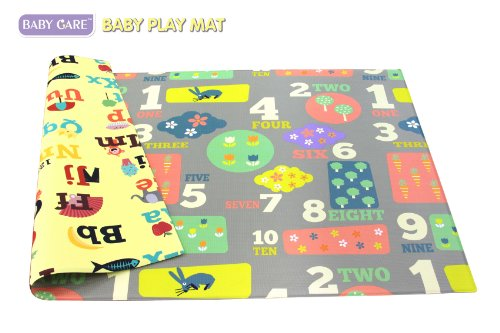 Baby Care Play Mat Letters Amp Numbers Grey Large In The