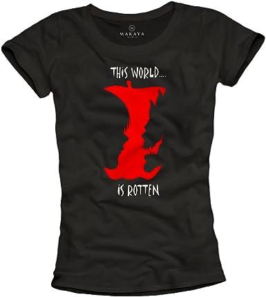 MAKAYA This World is Rotten - Ryuk Cosplay Womens T-Shirt