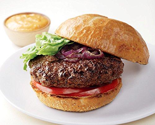 Burgers Kobe Beef - 18 American Style Kobe Steakburgers, 5 oz each