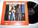 Rare James Bond Sound Track Lp - Ian Fleming's From Russia With Love & Photo Of Sean Connery On Front Of Cover - United Artists 1963