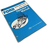 Ford Series 946 7 947 Rotary Cutters Operators Owners Manual