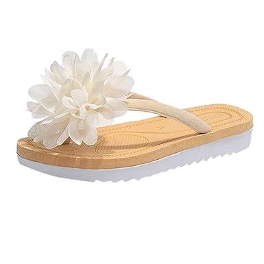 798755eea8ccf DENER❤ Women Ladies Summers Sexy House Slippers, Flowers Flip ...