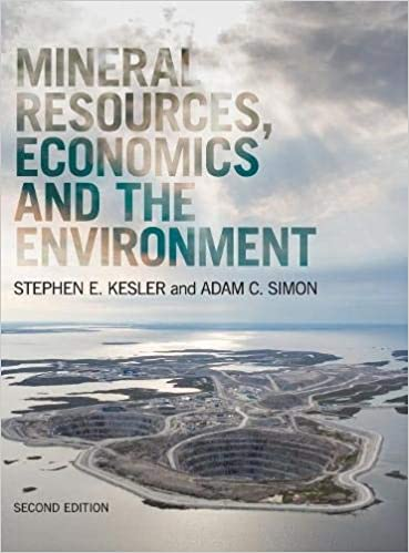 Mineral Resources Economics And The Environment Amazonde