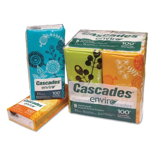 CSD4122 - Facial Tissue Pocket Packs by Cascades Tissue Group (Image #1)