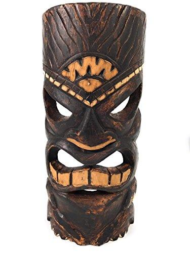 Lucky Tiki Mask (CARVED TIKI MASK 12