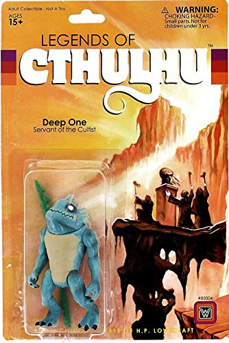 Legends of Cthulhu Retro Action Figure Deep One