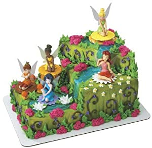 Tinkerbell Fairy Friends Signature Cake Topper