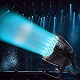 BETOPPER LED DJ PAR Light 54X3W RGBW LED Stage Lights 162Watt DMX 512 Stage Lighting for DJ Wedding Party Church Concert Dance Stage Music Events