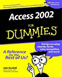 Access 2002 for Dummies®, John Kaufeld, 0764508180