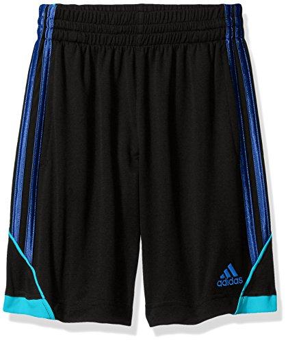 adidas Big Boys' Dynamic Speed Short, Caviar Black, L