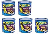 Planters Mixed Nuts, Mixed Nuts, Regular, 56 Ounce, 5 Cans