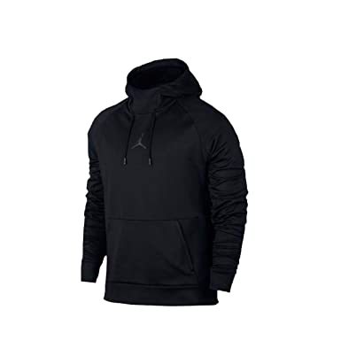 best cheap 2e805 cd943 NIKE Mens Jordan 360 Fleece Pull Over Hooded Sweatshirt Black Black X-Large  at Amazon Men s Clothing store